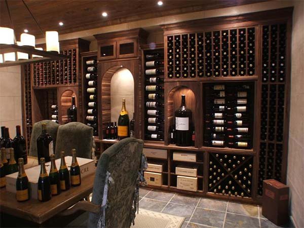 A Custom Wine Cellar
