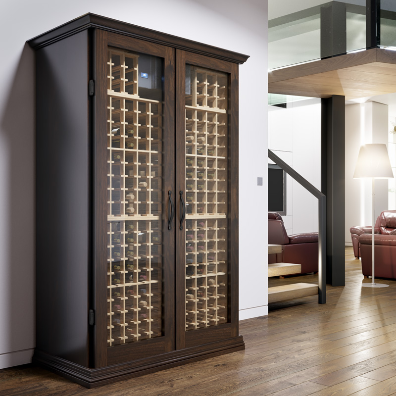 Semi-custom wine cabinets built for your budget