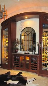 Custom Wine Storage Cabinet2