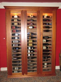 Horizontal Wine Cabinet