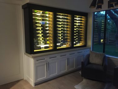 Conditioned Wine Cabinet