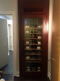 Built in Wine Cabinet