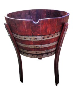 Wine Barrel Beverage Cooler