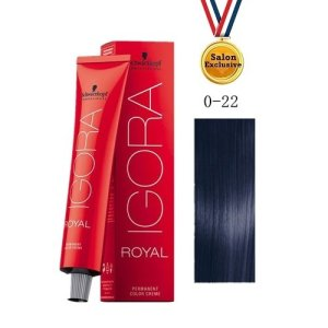 SCHWARZKOPF IGORA ROYAL COLOR CREAM 60ml - 0-22