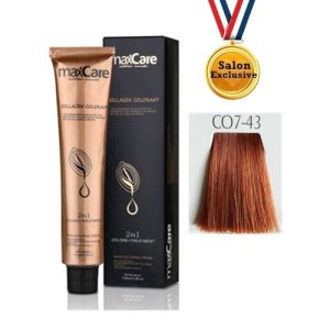 MAXCARE COLLAGEN 2in1 COLOR 100ml - CO7-43