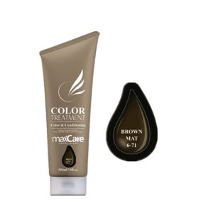 Maxcare Color Treatment BROWN MATT 250ml (6-71)