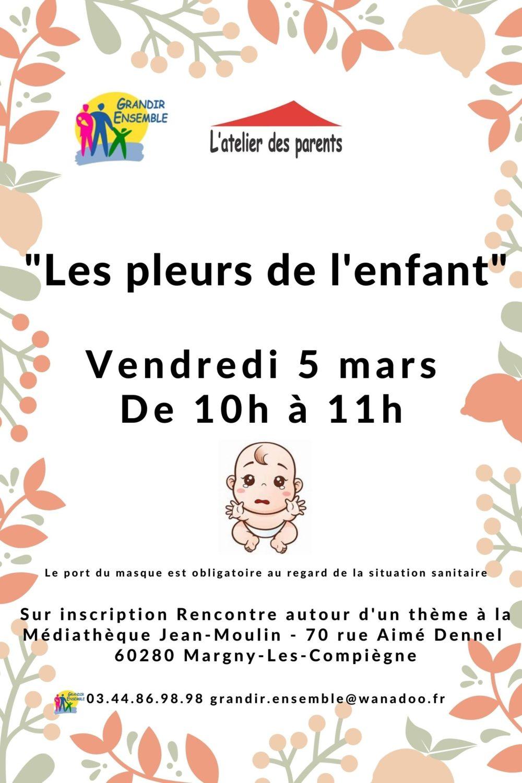 RT Margny Les pleurs de l'enfant du 5 mars 2021