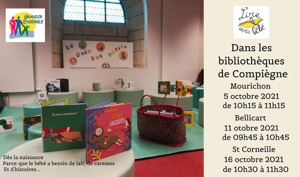 Bibliothèques Compiègne octobre 2021