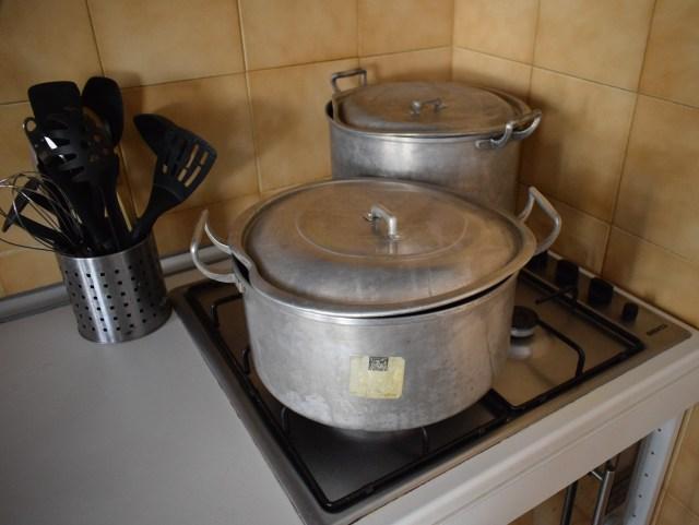 big pots