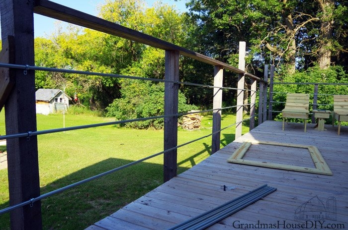 Diy Inexpensive Deck Rails Out Of Steel Conduit Easy To Do | Diy Galvanized Pipe Handrail | Entrance | Abs Pipe | Curved Steel Pipe | Repurposed | Simple Pipe