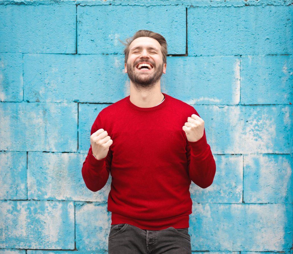 a happy man #you will survive #grandomly