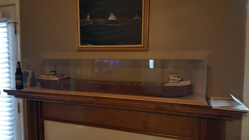 Edmund Fitzgerald Custom Display Case