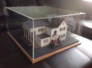 Model house for historical museum 1