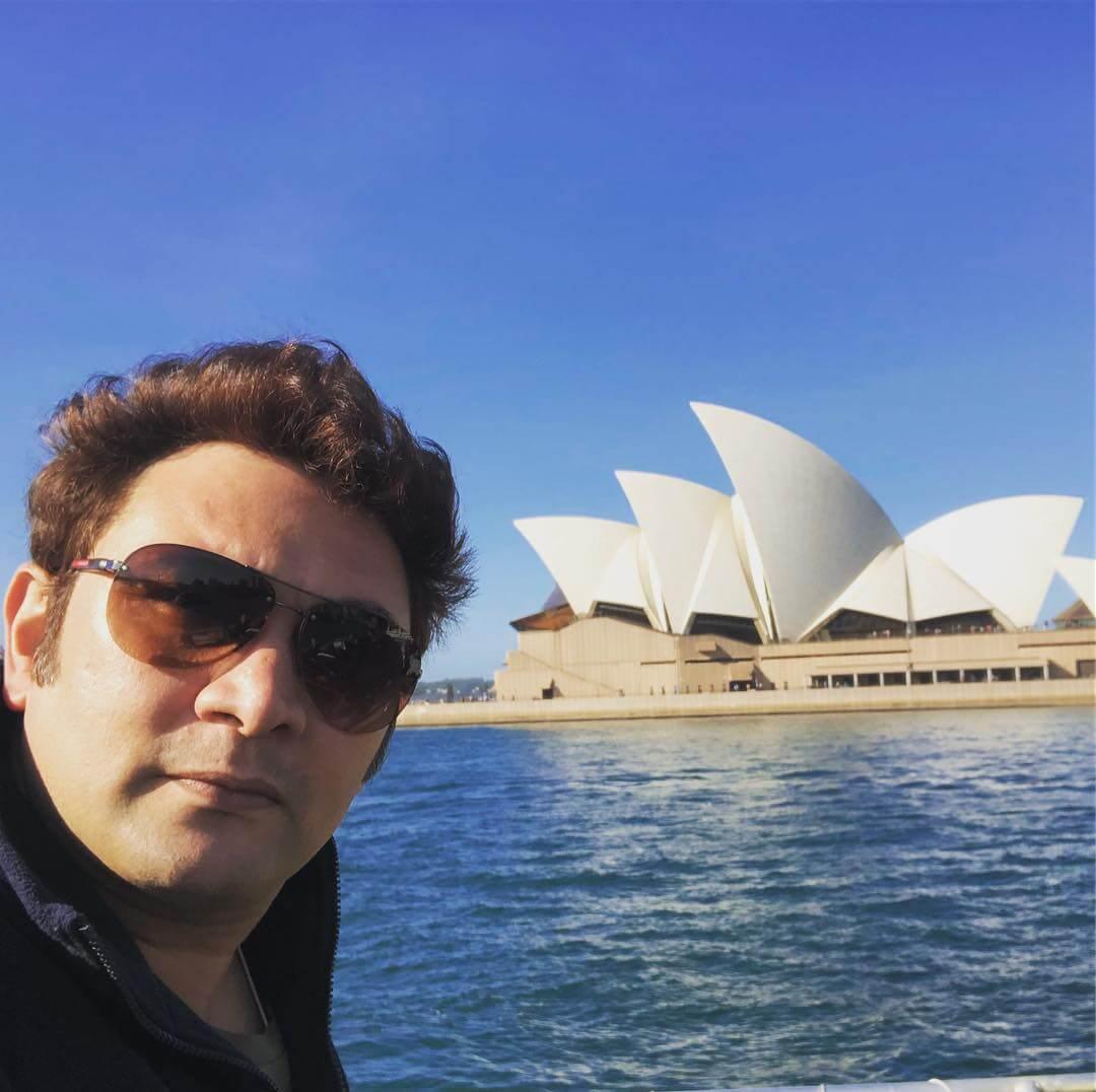 Rajesh Kumar instagram id