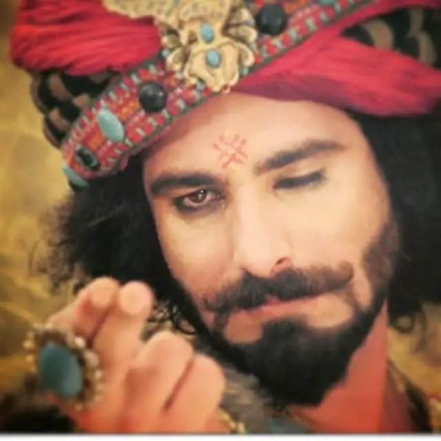 praneet bhat as shakuni