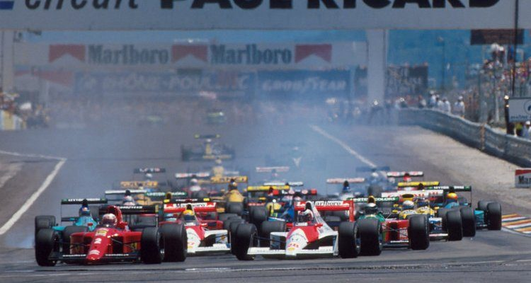 Image result for 1990 french grand prix