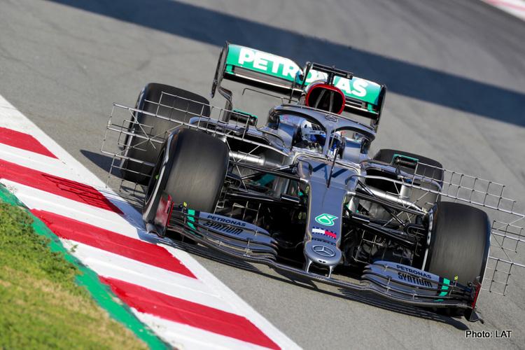 Barcelona Test Morning 1: Bottas leads, hiccups for Ferrari