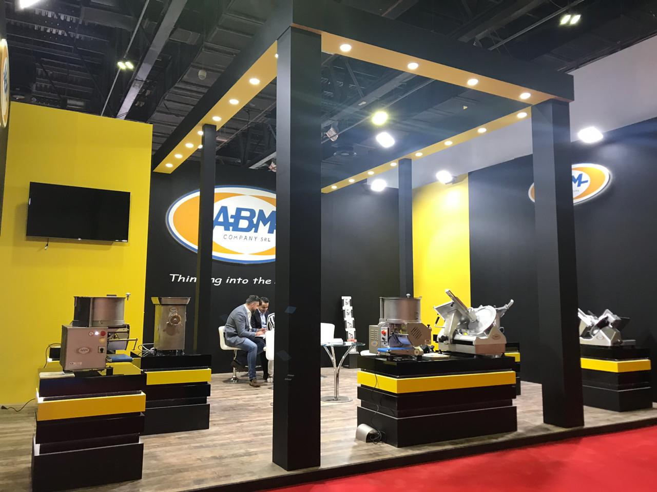 Exhibition Stand Builders Manufacturers : Abm exhibition stand designed & produced grand radium
