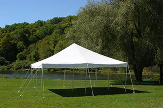 Canopy Pole Tent 20x20 Customer Install