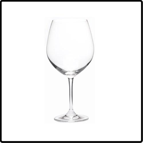 Crystal Red Wine Glass, 26oz Pinot Noir/Burgundy Glass