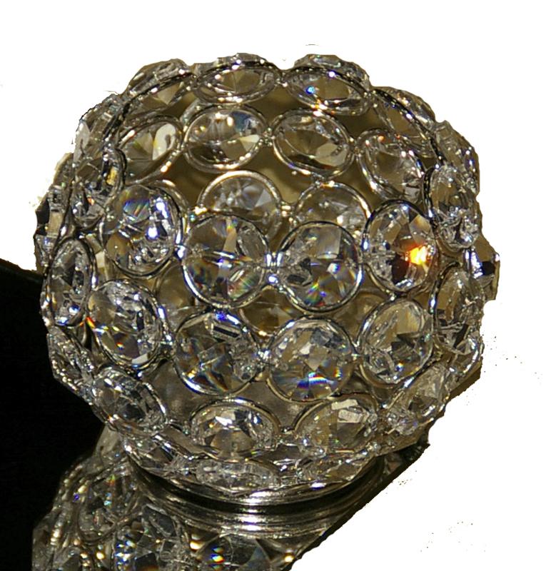 Round Crystal Votive