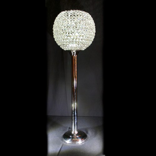 Crystal Globe centerpiece
