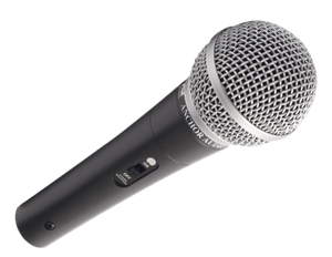 Handheld wired microphone