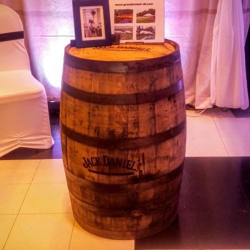 Jack Daniels Whiskey Barrel Rentals