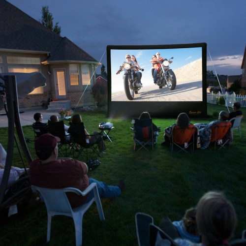 Inflatable Outdoor Home Theater System