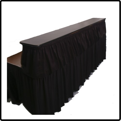 Skirted Bar - Sideview