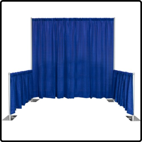 Pipe & Drape Booth