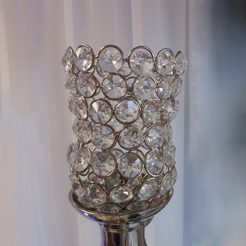 Crystal Small Tulip Votive Holder