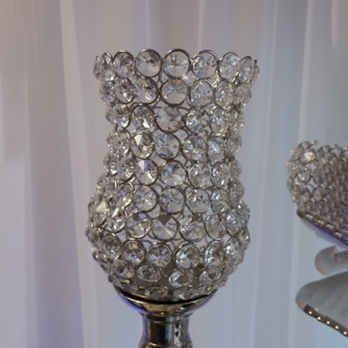 Crystal Large Tulip votive Holder