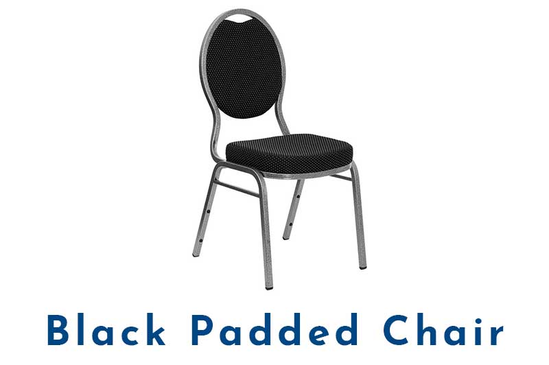 Black-Padded-Chair