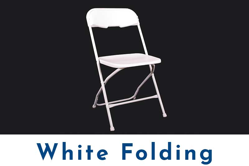 White-Folding-Chair