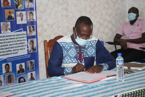 Professeur Kokou Folly Lolowou Directeur Exécutif du Centre Panafricain de Recherche sur la Sécurité, la Paix et le Développement