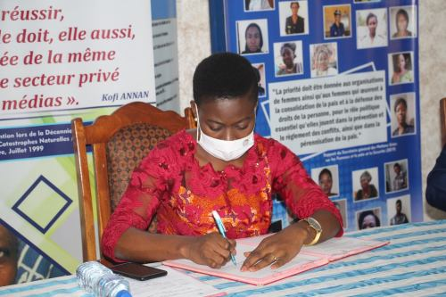 Madame Noviéku Dado Nora, Coordinatrice de WANEP-TOGO