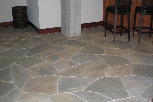 interior natural flagstone ideas