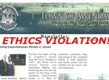 Awendaw Ethics Violation