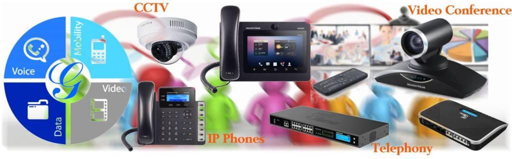 Grandstream Dubai   Business Telephone System PBX UAE