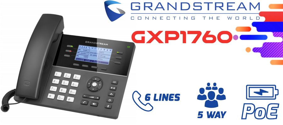 Grandstream GXP1760 IP Phone Dubai