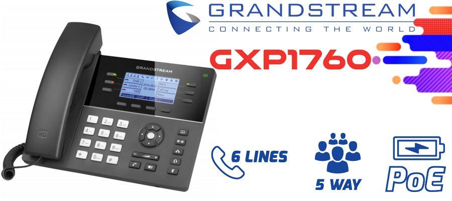 Grandstream GXP1760 IP Phone Dubai