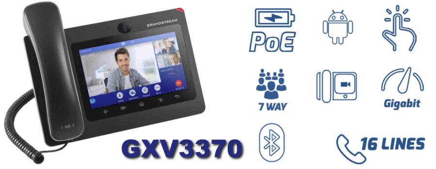 grandstream gxv3370 ip phone