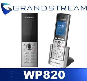 grandstream wp820 duai