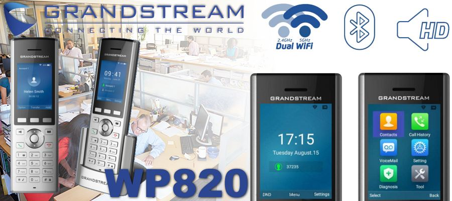 grandstream wp820 wireless phone