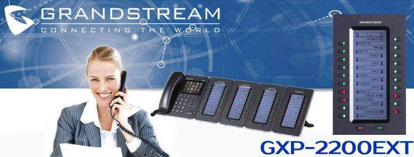 Grandstream-GXP-2200EXT-Dubai