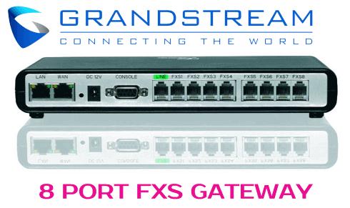 Grandstream-GXW-4008-dubai