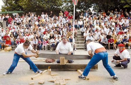 Les Jeux De Force Basque Pays Basque Pyrnes
