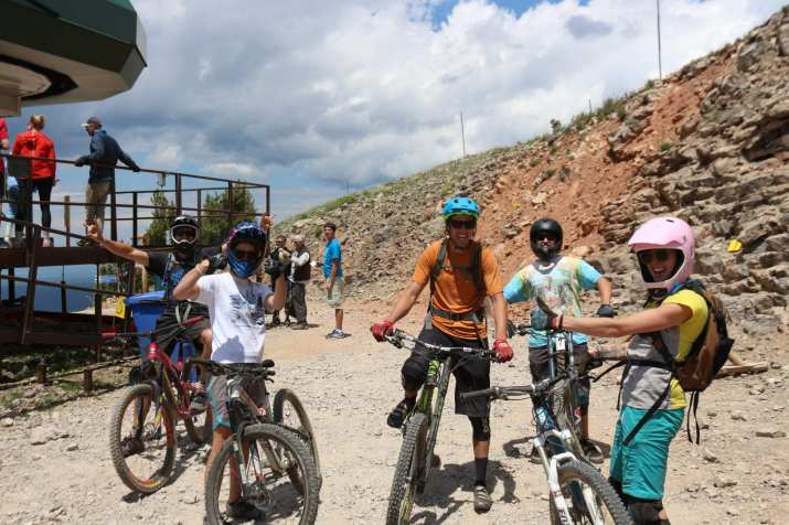 Don't forget the bikes! Mtn. biking is a hobby, actually obsession, in Teton Valley.