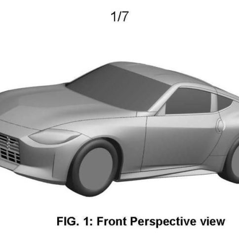 nissan 400z patent images